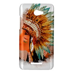 Native American Young Indian Shief HTC Butterfly X920E Hardshell Case