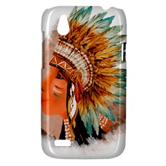 Native American Young Indian Shief HTC Desire V (T328W) Hardshell Case