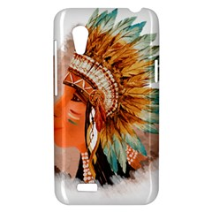 Native American Young Indian Shief HTC Desire VT (T328T) Hardshell Case