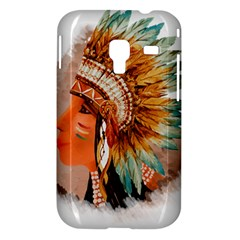 Native American Young Indian Shief Samsung Galaxy Ace Plus S7500 Hardshell Case