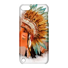 Native American Young Indian Shief Apple iPod Touch 5 Hardshell Case with Stand