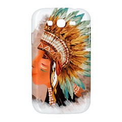 Native American Young Indian Shief Samsung Galaxy Grand DUOS I9082 Hardshell Case