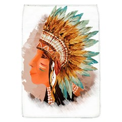 Native American Young Indian Shief Flap Covers (L)
