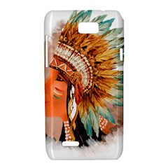 Native American Young Indian Shief Motorola XT788