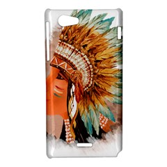 Native American Young Indian Shief Sony Xperia J