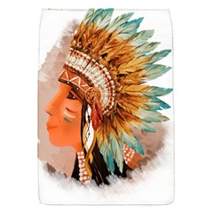 Native American Young Indian Shief Flap Covers (S)