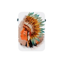 Native American Young Indian Shief Apple iPad Mini Protective Soft Cases