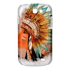 Native American Young Indian Shief Samsung Galaxy Express I8730 Hardshell Case