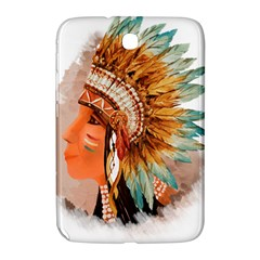 Native American Young Indian Shief Samsung Galaxy Note 8.0 N5100 Hardshell Case
