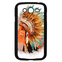 Native American Young Indian Shief Samsung Galaxy Grand DUOS I9082 Case (Black)