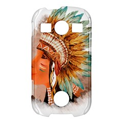 Native American Young Indian Shief Samsung Galaxy S7710 Xcover 2 Hardshell Case