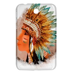Native American Young Indian Shief Samsung Galaxy Tab 3 (7 ) P3200 Hardshell Case