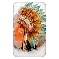 Native American Young Indian Shief Samsung Galaxy Tab 3 (8 ) T3100 Hardshell Case