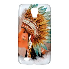 Native American Young Indian Shief Galaxy S4 Active