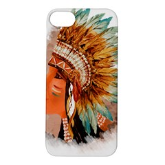 Native American Young Indian Shief Apple Iphone 5s/ Se Hardshell Case