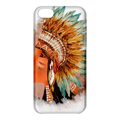 Native American Young Indian Shief Apple iPhone 5C Hardshell Case