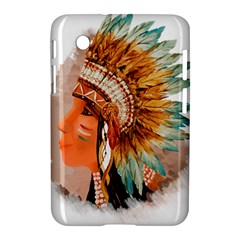 Native American Young Indian Shief Samsung Galaxy Tab 2 (7 ) P3100 Hardshell Case