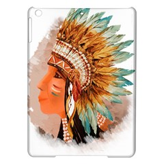 Native American Young Indian Shief iPad Air Hardshell Cases