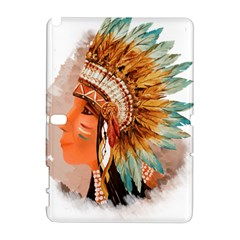 Native American Young Indian Shief Samsung Galaxy Note 10.1 (P600) Hardshell Case