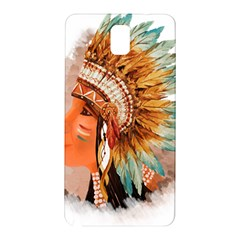 Native American Young Indian Shief Samsung Galaxy Note 3 N9005 Hardshell Back Case