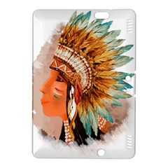 Native American Young Indian Shief Kindle Fire Hdx 8 9  Hardshell Case