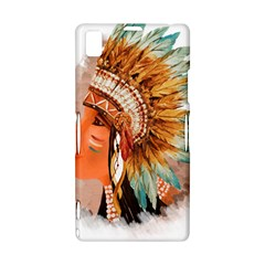 Native American Young Indian Shief Sony Xperia Z1