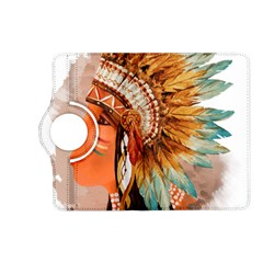 Native American Young Indian Shief Kindle Fire HD (2013) Flip 360 Case