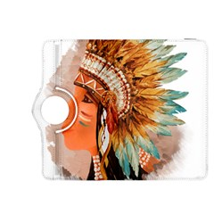 Native American Young Indian Shief Kindle Fire Hdx 8 9  Flip 360 Case