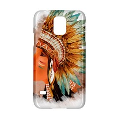 Native American Young Indian Shief Samsung Galaxy S5 Hardshell Case