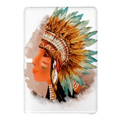 Native American Young Indian Shief Samsung Galaxy Tab Pro 10.1 Hardshell Case