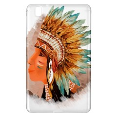 Native American Young Indian Shief Samsung Galaxy Tab Pro 8.4 Hardshell Case