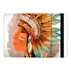 Native American Young Indian Shief Samsung Galaxy Tab Pro 10.1  Flip Case