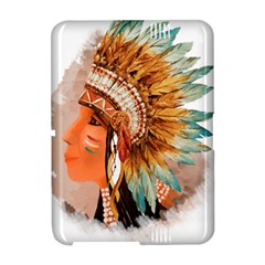 Native American Young Indian Shief Amazon Kindle Fire (2012) Hardshell Case