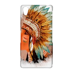 Native American Young Indian Shief Sony Xperia Z2