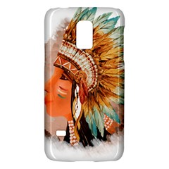 Native American Young Indian Shief Galaxy S5 Mini