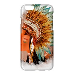 Native American Young Indian Shief Apple iPhone 6 Plus/6S Plus Hardshell Case