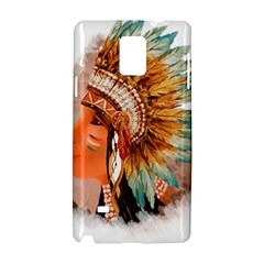Native American Young Indian Shief Samsung Galaxy Note 4 Hardshell Case
