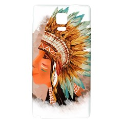 Native American Young Indian Shief Galaxy Note 4 Back Case