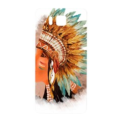 Native American Young Indian Shief Samsung Galaxy Alpha Hardshell Back Case