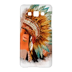 Native American Young Indian Shief Samsung Galaxy A5 Hardshell Case