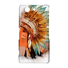 Native American Young Indian Shief Sony Xperia Z3 Compact