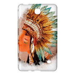 Native American Young Indian Shief Samsung Galaxy Tab 4 (7 ) Hardshell Case