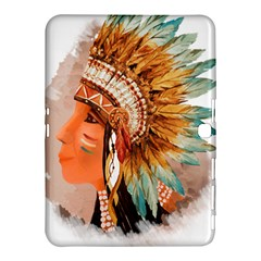 Native American Young Indian Shief Samsung Galaxy Tab 4 (10 1 ) Hardshell Case