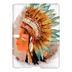 Native American Young Indian Shief Samsung Galaxy Tab S (10.5 ) Hardshell Case