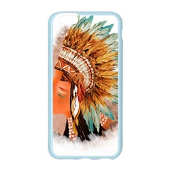 Native American Young Indian Shief Apple Seamless iPhone 6/6S Case (Color)
