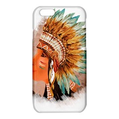 Native American Young Indian Shief iPhone 6/6S TPU Case