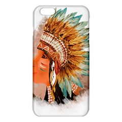 Native American Young Indian Shief Iphone 6 Plus/6s Plus Tpu Case