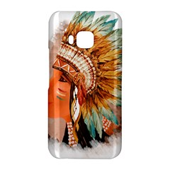 Native American Young Indian Shief HTC One M9 Hardshell Case
