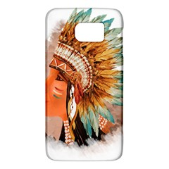Native American Young Indian Shief Galaxy S6