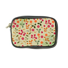 Elegant Floral Seamless Pattern Coin Purse